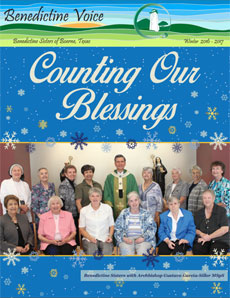 Benedictine Voice - Counting Our Blessings