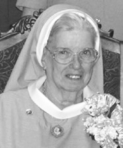 Sister Germaine Marie Sutton