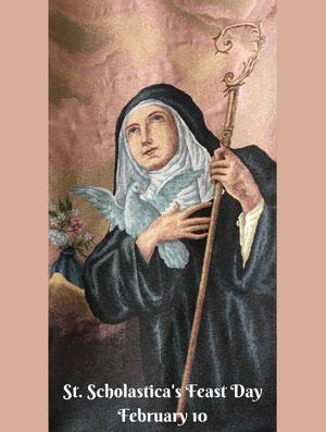 image of St. Scholastica