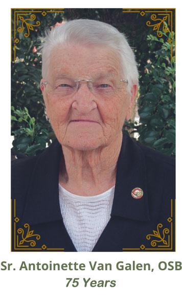 Sister Antoinette Van Galen, OSB