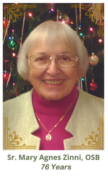 Sister Mary Agnes Zinni, OSB